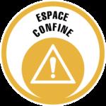 Logo formation Espace confiné