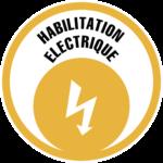 Logo formation Habilitation électrique