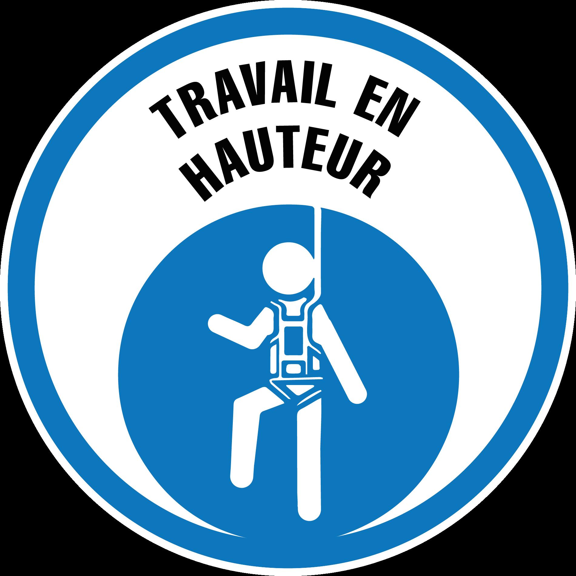 Logo formation Travail hauteur